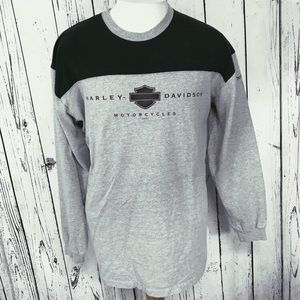 Harley Davidson long sleeve sweater
